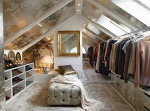 Garderobe zolder